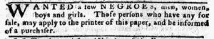 Oct 15 1770 - Pennsylvania Chronicle Slavery 2