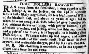 Oct 15 1770 - Pennsylvania Chronicle Slavery 3