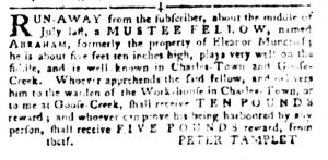 Oct 16 1770 - South-Carolina Gazette and Country Journal Slavery 5