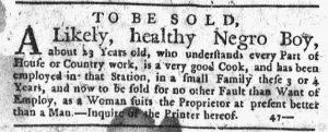 Oct 4 1770 - New-York Journal Slavery 1