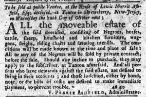 Oct 4 1770 - New-York Journal Slavery 3