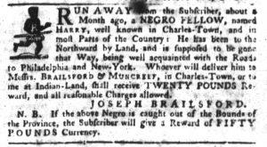 Oct 4 1770 - South-Carolina Gazette Slavery 5