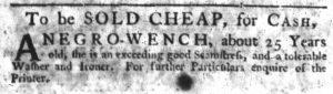 Oct 4 1770 - South-Carolina Gazette Slavery 8