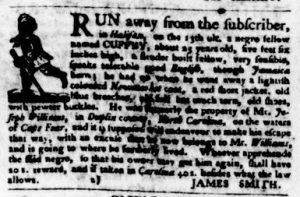 Oct 4 1770 - Virginia Gazette Purdie & Dixon Slavery 1