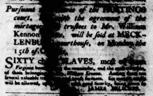 Oct 4 1770 - Virginia Gazette Purdie & Dixon Slavery 2