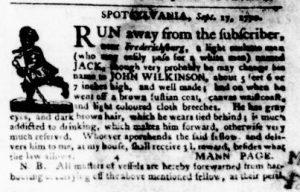 Oct 4 1770 - Virginia Gazette Purdie & Dixon Slavery 3