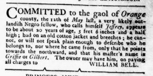 Oct 4 1770 - Virginia Gazette Rind Slavery 3