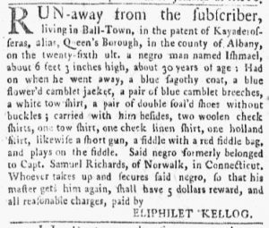 Oct 8 1770 - New-York Gazette and Weekly Mercury Supplement Slavery 2
