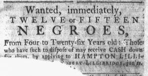 Oct 8 1770 - Newport Mercury Slavery 2