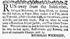 Sep 10 1770 - New-York Gazette and Weekly Mercury Slavery 4