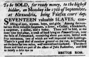 Sep 13 1770 - Virginia Gazette Purdie & Dixon Slavery 13