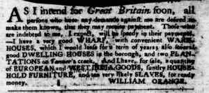 Sep 13 1770 - Virginia Gazette Purdie & Dixon Slavery 5