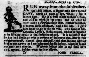 Sep 13 1770 - Virginia Gazette Purdie & Dixon Slavery 7