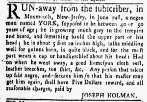 Sep 17 1770 - New-York Gazette and Weekly Mercury Slavery 2