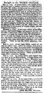 Sep 18 1770 - South-Carolina Gazette and Country Journal Supplement Slavery 3