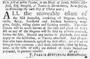 Sep 20 1770 - New-York Journal Slavery 1