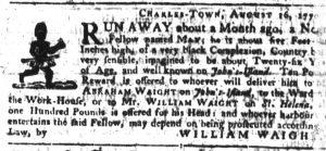 Sep 20 1770 - South-Carolina Gazette Supplement Slavery 2