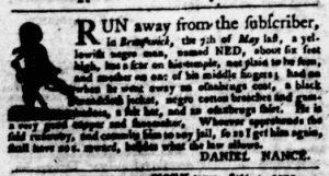 Sep 20 1770 - Virginia Gazette Purdie & Dixon Slavery 7