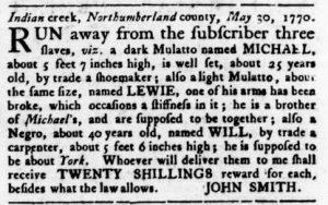 Sep 20 1770 - Virginia Gazette Rind Slavery 6