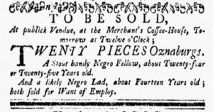 Sep 24 1770 - New-York Gazette and Weekly Mercury Slavery 1