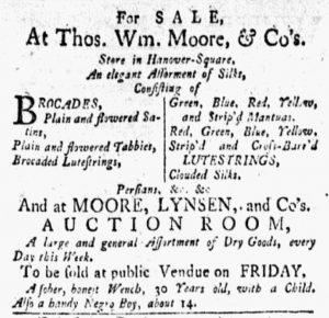 Sep 24 1770 - New-York Gazette and Weekly Mercury Slavery 2