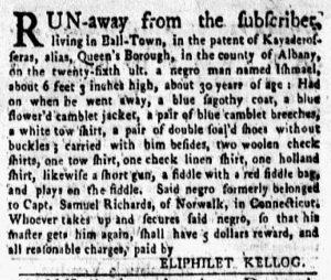 Sep 3 1770 - New-York Gazette and Weekly Mercury Slavery 3