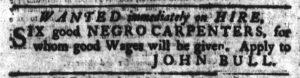Sep 6 1770 - South-Carolina Gazette Continuation Slavery 2
