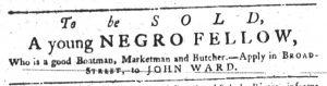 Sep 6 1770 - South-Carolina Gazette Supplement Slavery 3