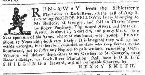 Sep 6 1770 - South-Carolina Gazette Supplement Slavery 6