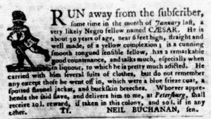 Sep 6 1770 - Virginia Gazette Purdie & Dixon Slavery 12