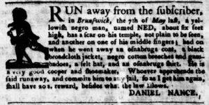 Sep 6 1770 - Virginia Gazette Purdie & Dixon Slavery 7
