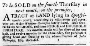 Sep 6 1770 - Virginia Gazette Rind Slavery 10