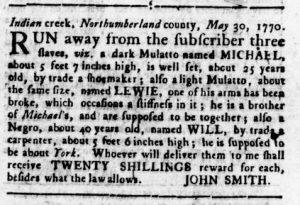 Sep 6 1770 - Virginia Gazette Rind Slavery 11