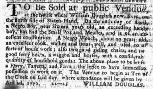 Apr 12 1770 - New-York Journal Slavery 1