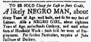 Apr 13 1770 - New-Hampshire Gazette Slavery 2