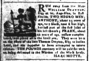 Apr 13 1770 - South-Carolina and American General Gazette Slavery 5