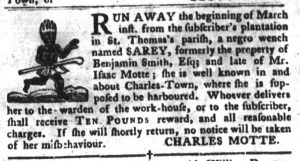 Apr 17 1770 - South-Carolina Gazette and Country Journal Supplement Slavery 4