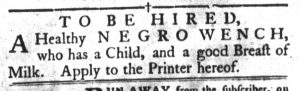 Apr 17 1770 - South-Carolina Gazette and Country Journal Supplement Slavery 6