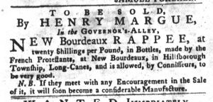 Apr 17 - 4:17:1770 South-Carolina Gazette and Country Journal Supplement