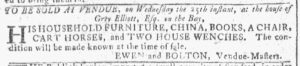 Apr 18 1770 - Georgia Gazette Slavery 1