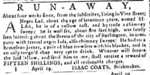 Apr 19 1770 - Pennsylvania Journal Slavery 1