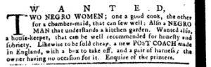 Apr 19 1770 - Pennsylvania Journal Slavery 5