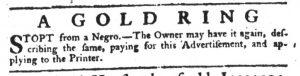 Apr 19 1770 - South-Carolina Gazette Slavery 15