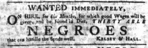 Apr 19 1770 - South-Carolina Gazette Slavery 2