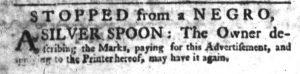 Apr 19 1770 - South-Carolina Gazette Slavery 3