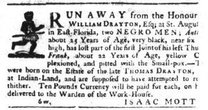 Apr 19 1770 - South-Carolina Gazette Slavery 5