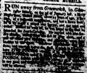 Apr 19 1770 - Virginia Gazette Rind Slavery 4