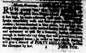 Apr 19 1770 - Virginia Gazette Rind Slavery 6