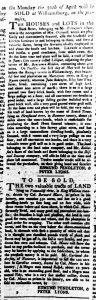 Apr 19 1770 - Virginia Gazette Rind Slavery 8