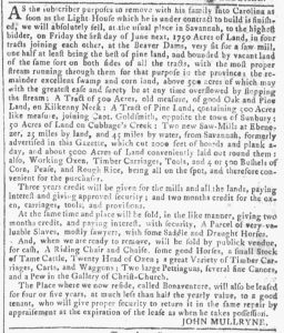 Apr 25 1770 - Georgia Gazette Slavery 7